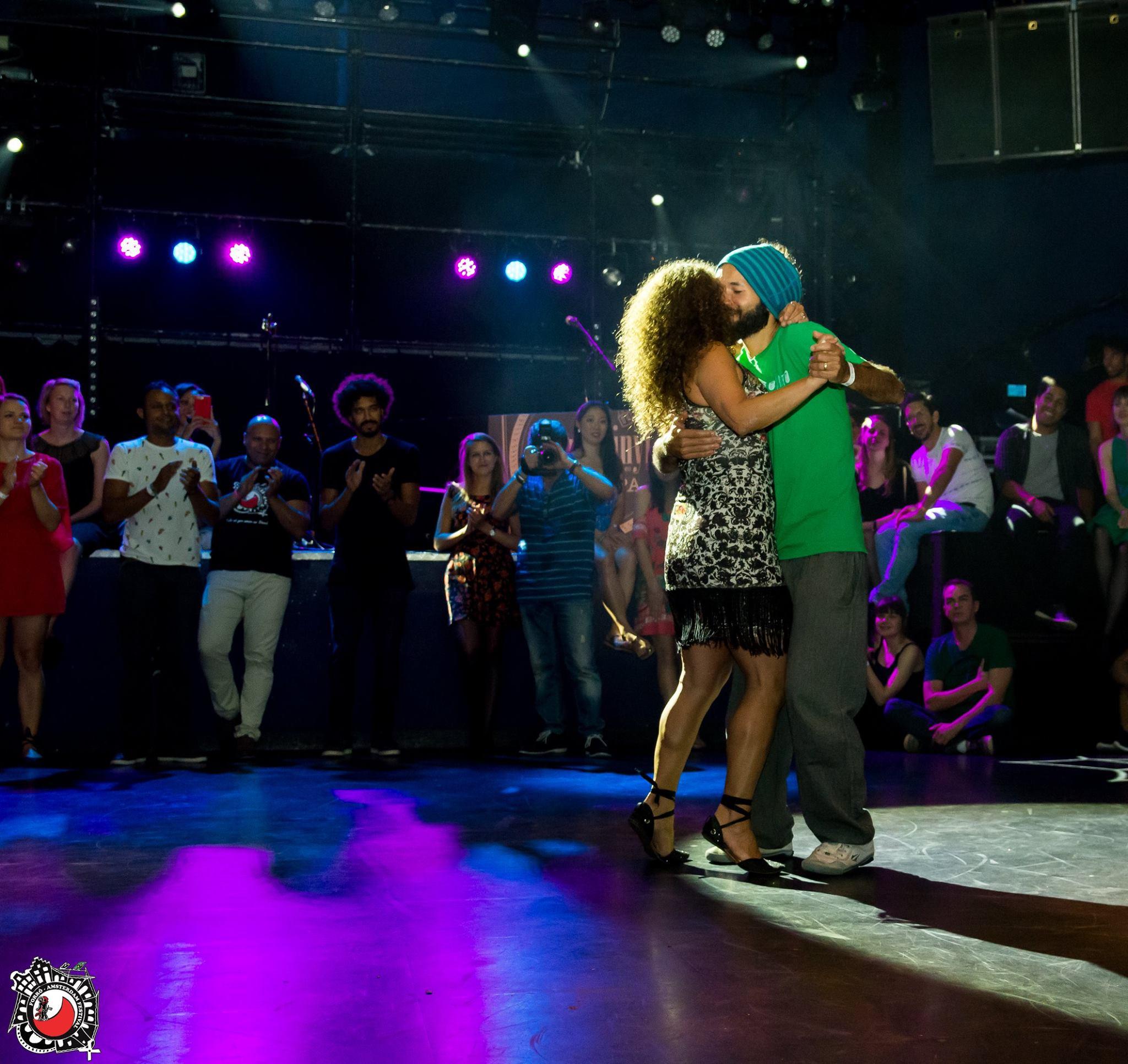 Juliana dancing with Terra