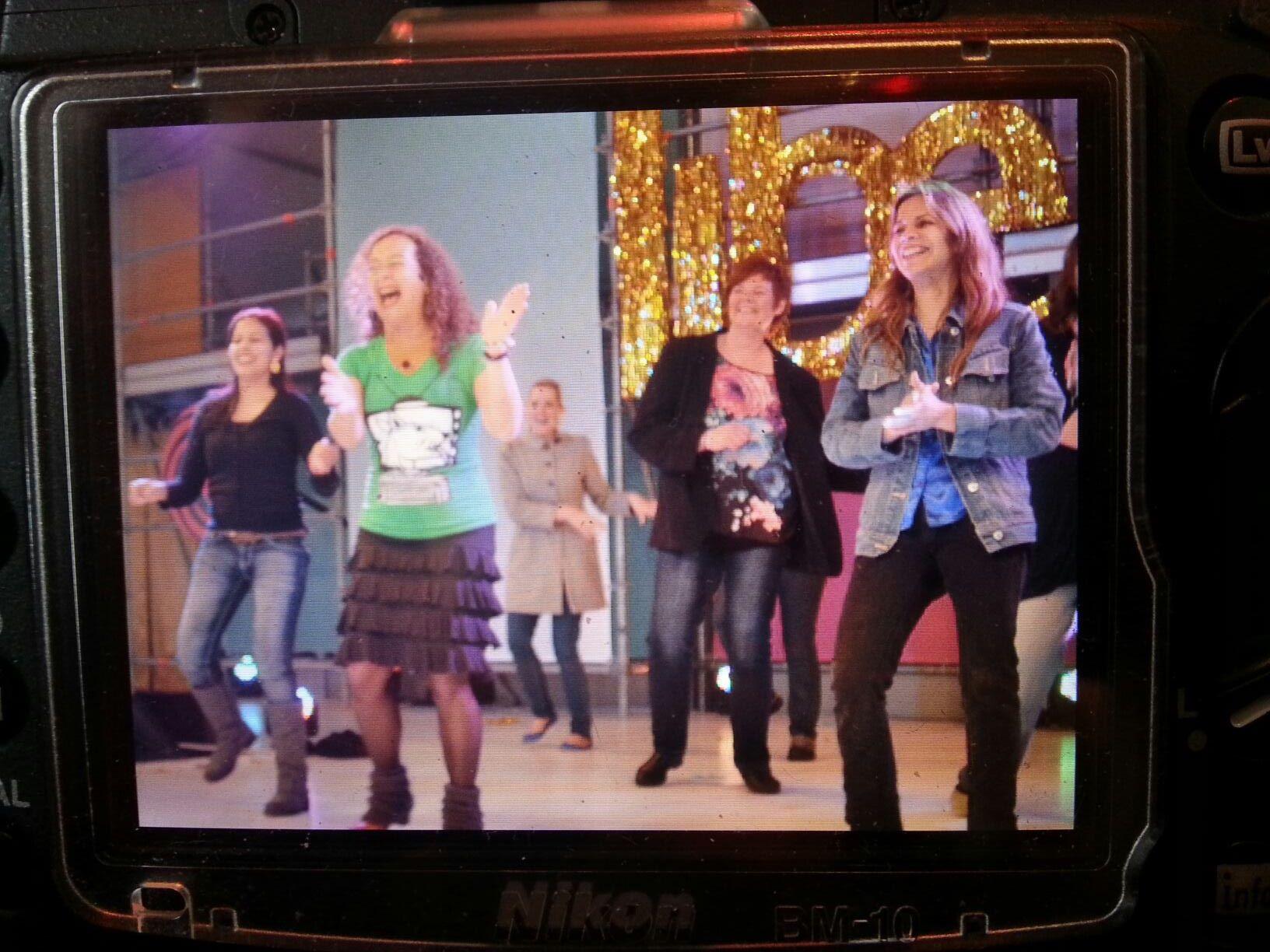 Juliana in Dutch television