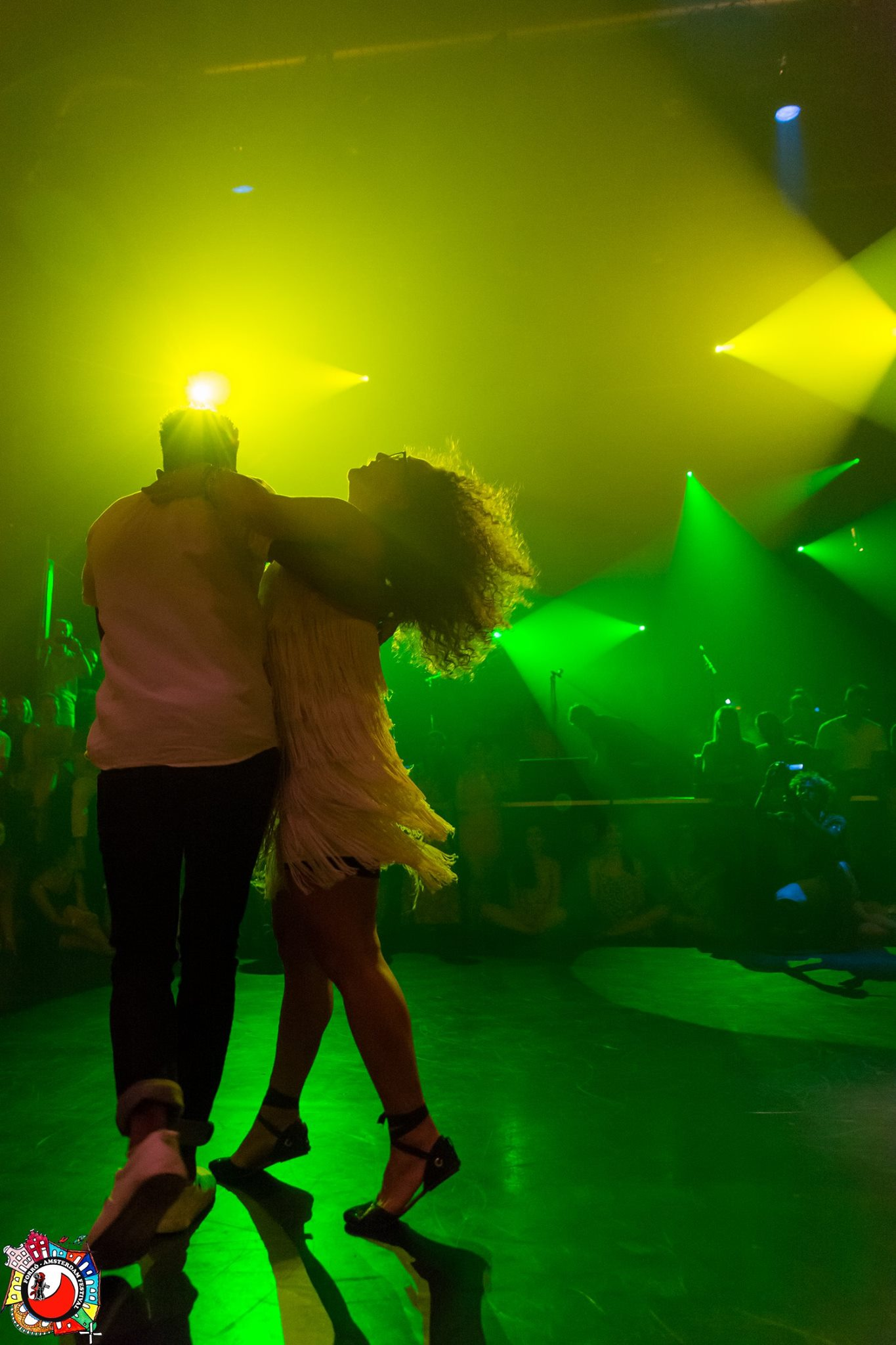 Juliana Braga dances samba