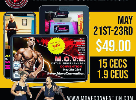 ATTENTION FITNESS PRO'S AND ATTENDEES!
