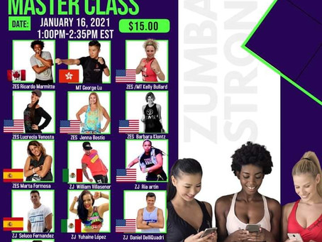 Join us for a Zumba® and Strong Nation™ Virtual Class with Top Instructors at M.OV.E Convention