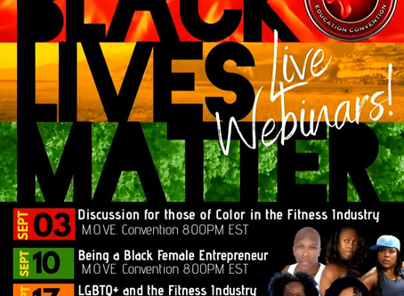 Live Webinar To Discuss People Of Color In The Fitness Industry