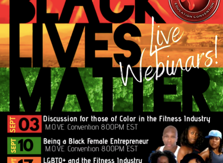 Join Us Tonight For A Discussion On The Challenges Faced By People Of Color In The Fitness Industry