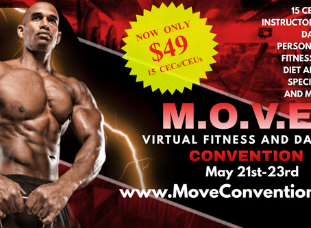 M.O.V.E. Is The First VIRTUAL Fitness Convention