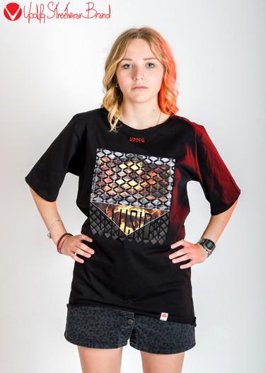T-shirt Oversize Illusion