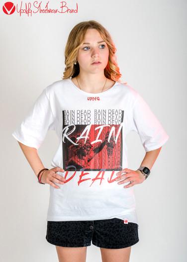 T-shirt oversize Rain Dead