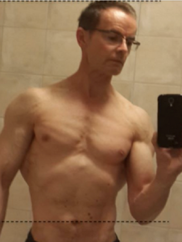 4 month transform, 3 years after back injury
