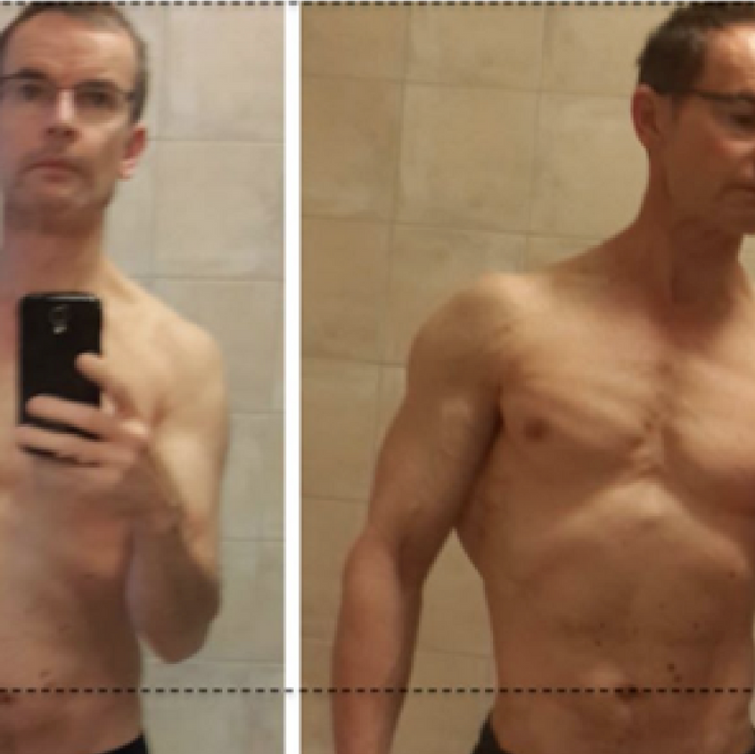 4 month before after
