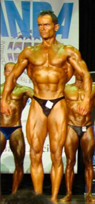 Last major comp - Natural Mr. Olympia, Masters, 3rd