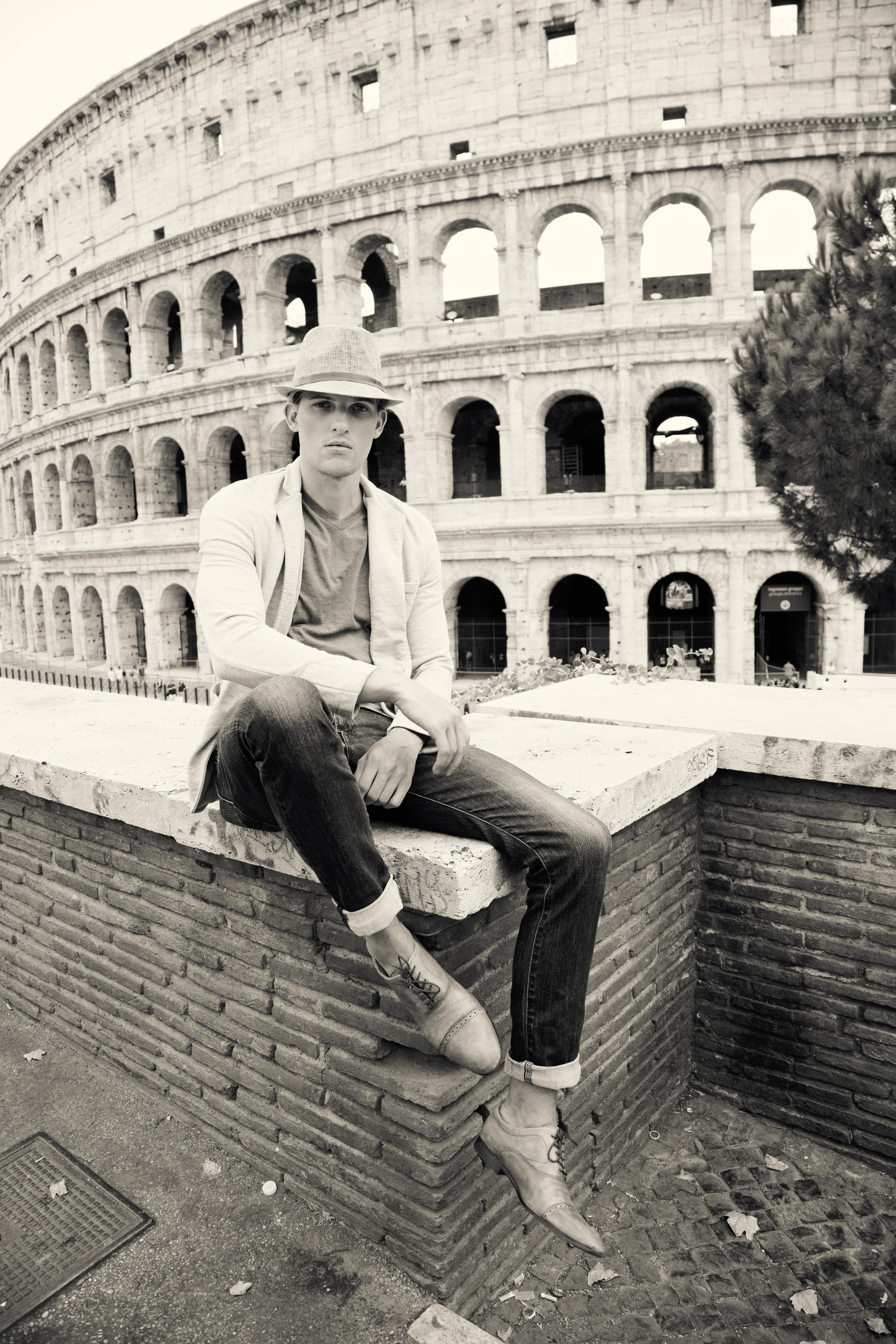 Chris H ANTM in Rome Italy