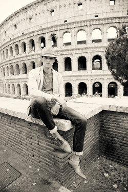 Chris H ANTM in Rome Italy
