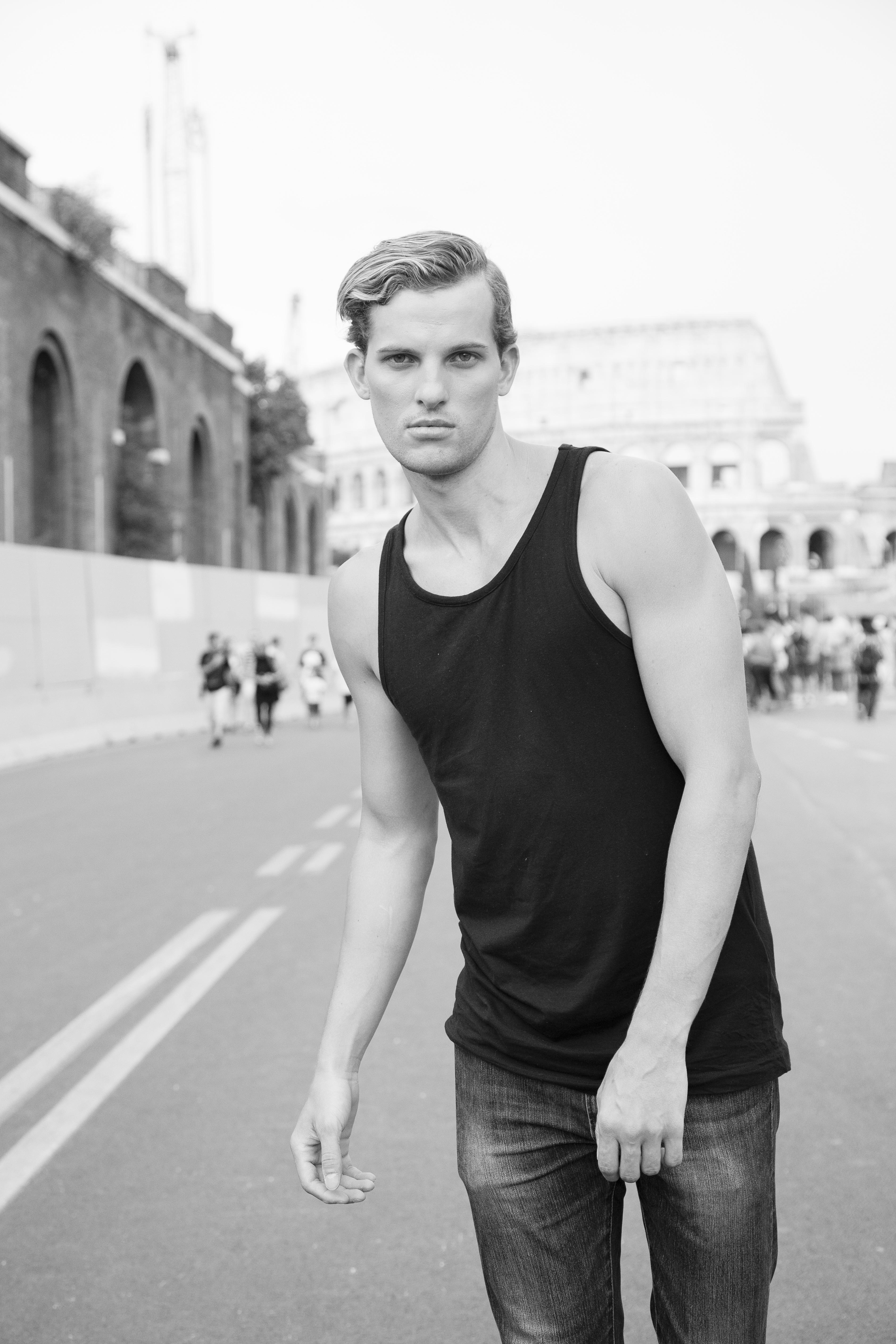 ANTM Alum's Chris H in Rome