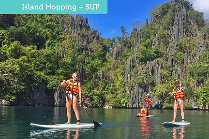 stand-up paddle, coron, palawan, SUP, mangrove, paddle, tours, supcoron, supcentral, supcentraltours