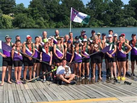 Western Reserve Rowing Association Wins the 137th Royal Canadian Henley Masters Regatta Efficiency