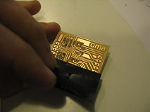 OMA, fablab, Lisbon, vinyl cutter, mask, stencil, solder paste, PCB, micro-circuit