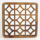 Arabic-inspired patterns made from reclaimed wood ​ Standard size:  10cmx10cm ; 15cmx15cm   All tiles can be personalized and produced in different sizes and materials   ​ ​ ​