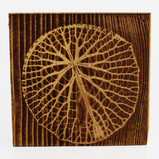 Nature-inspired patterns engraved on reclaimed wood.  Standard size: 10cmx10cm ; 15cmx15cm  All tiles can be personalized and produced in different sizes and materials.
