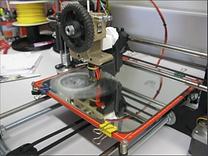 3D printing, OMA, lamp shade, fablab, Lisbon, 3D