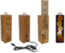esteva OMA, upcycling, lamp, light box, LED, eco-design, wine box, crochet pattern, arabic pattern, sustainability, reclaimed wood, Portuguese traditional pattern, Portugal, made in lisbon