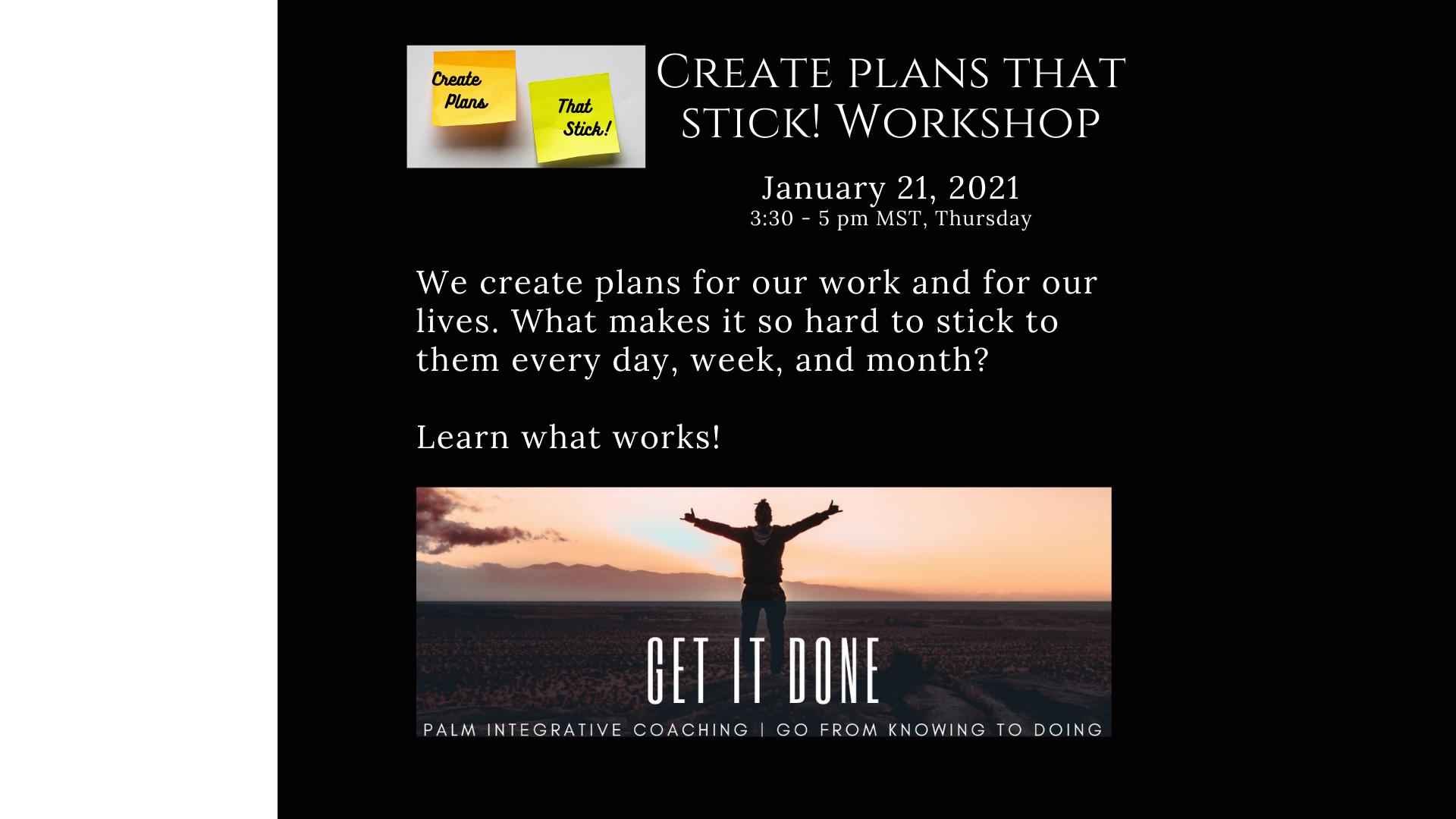 Workshop Follow-Up Session (30 mins)