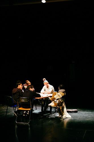 Répétition des étudiants de l'ESAD – École  supérieure d'art dramatique de Paris