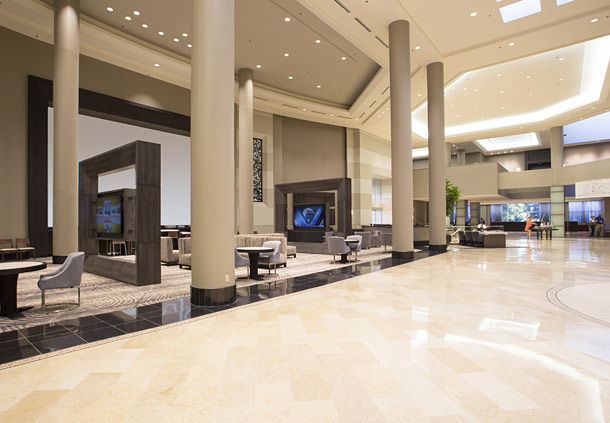 Marriott Greatroom Lobby