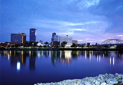 Downtown Little Rock Skyline