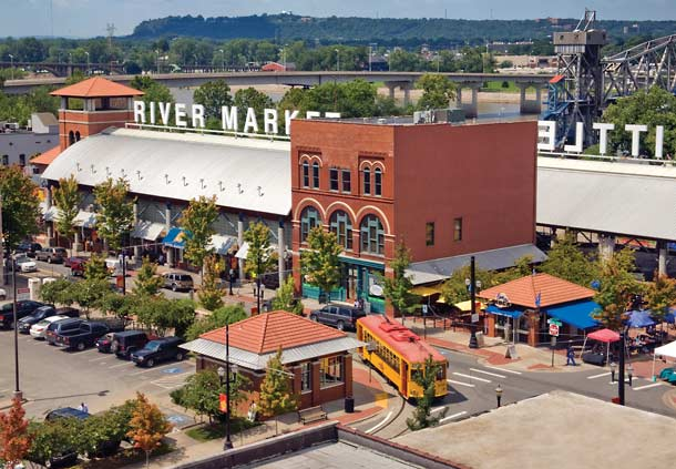 River Market District