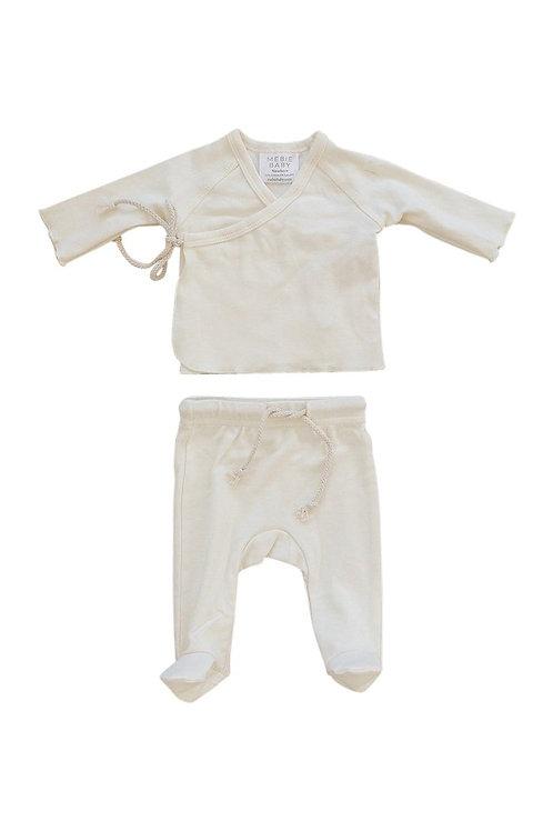 Cotton Layette Set - Cream