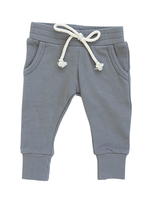 French Terry Jogger Pants - Slate