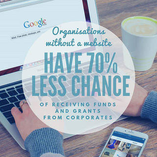 Not having a good website can be the reason you miss out on opportunities to raise funds f