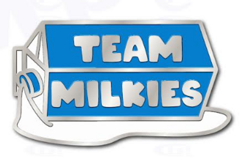 Team Milkies Pin