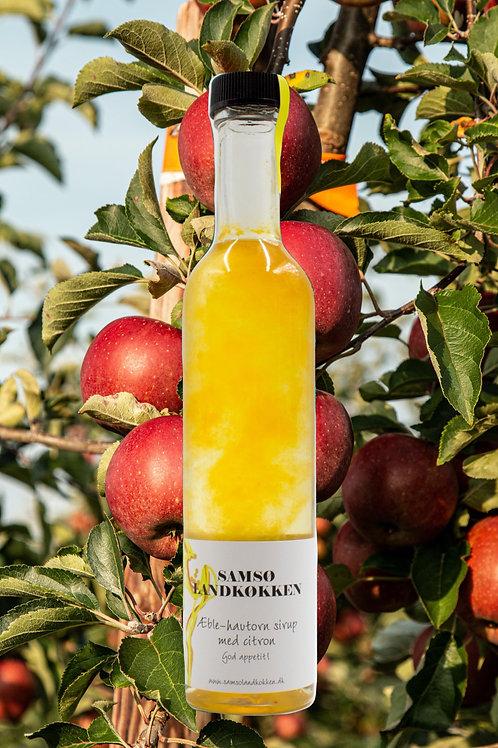 Æble- og havtornesirup m. citron