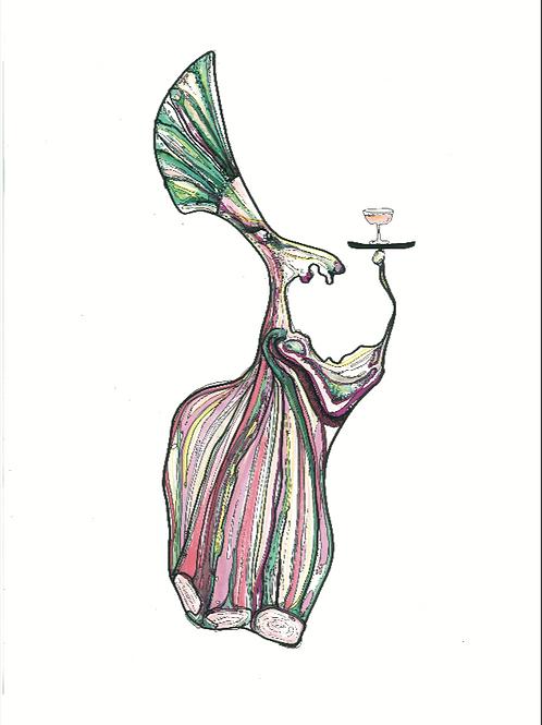 Samsø Butleren #1, A3 plakat