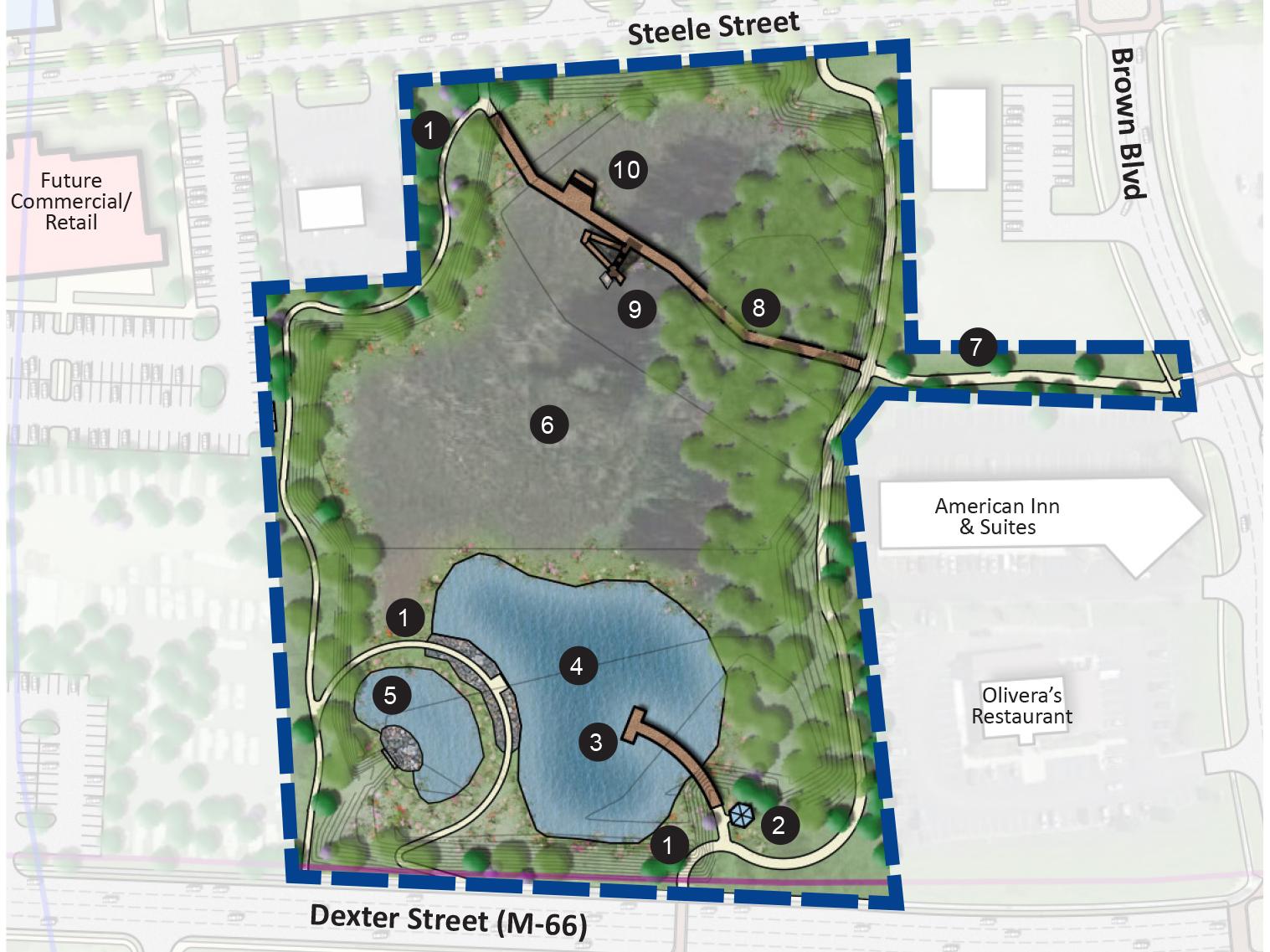 Ionia Wetland Park Plan