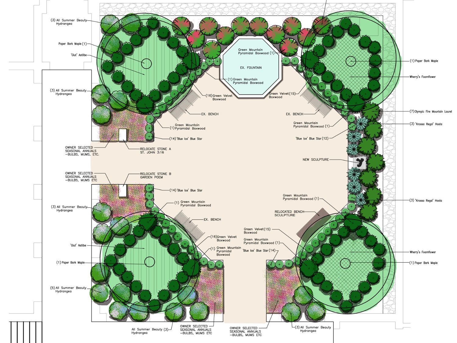 Central Reformed Church Site Plan