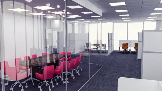 Vodafone Türkiye Ofis Binası Toplantı Odası