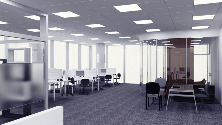 Vodafone Türkiye Ofis Binası Çağrı Merkezi Katı