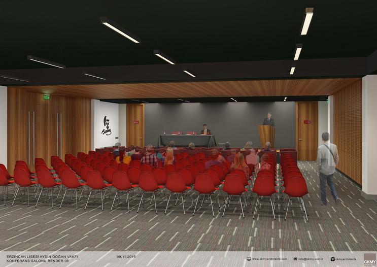 Aydın Doğan Öğrenci Merkezi Çok Amaçlı Salon