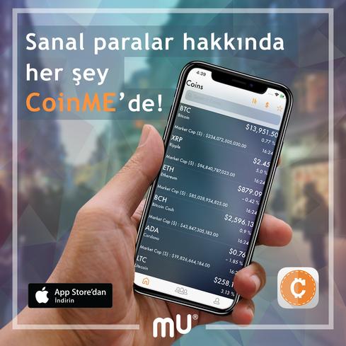 CoinMe App | Sosyal Medya Paylaşımı