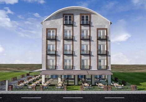 Grand Ege Otel Binası Ön Cephe