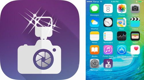 Papparazzi App | Launcher Icon