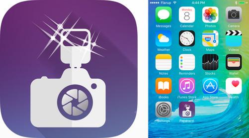 Papparazzi App   Launcher Icon