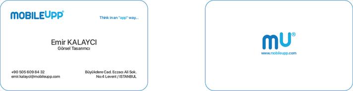 MobileUpp Kurumsal Kimlik Çalışmaları
