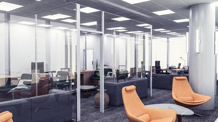 Vodafone Türkiye Ofis Binası Yönetici Dinlenme Alanı