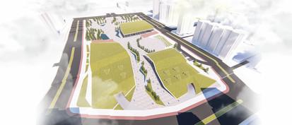 Yayalaştırılan Proje Alanı ve Kent Meydanı