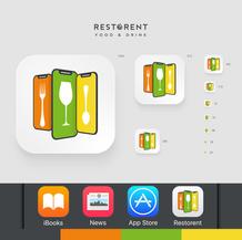 Restorent App   Launcher Icon Set