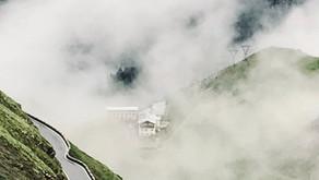 The Stelvio Pass Road