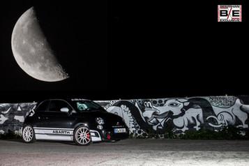Abarth mit Mond Franzenshöhe