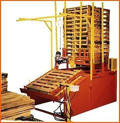 Model 2001 Pallet Nailing System